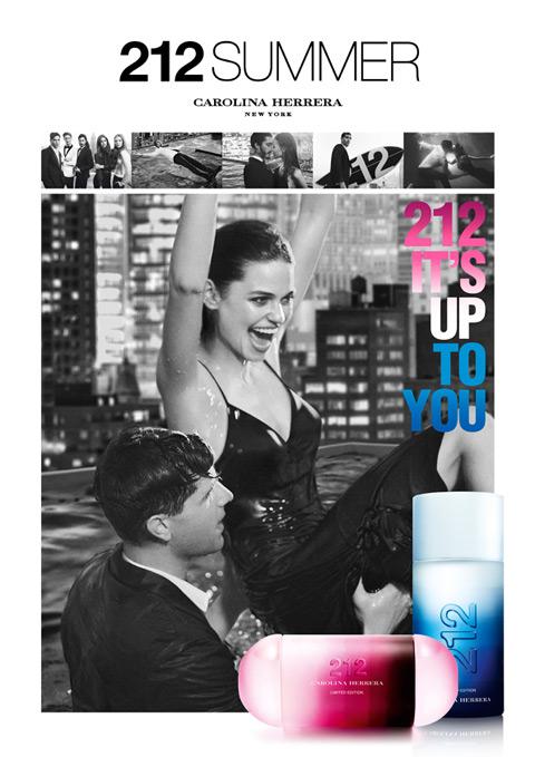 Новые летние ароматы 212 Summer и 212 Men Summer от Carolina Herrera (2)