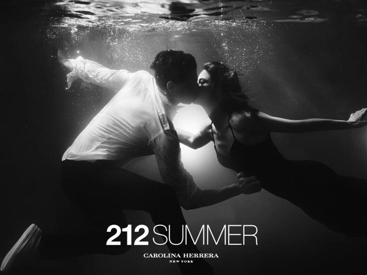 Реклама новых летних ароматов 212 Summer и 212 Men Summer от Carolina Herrera (2)