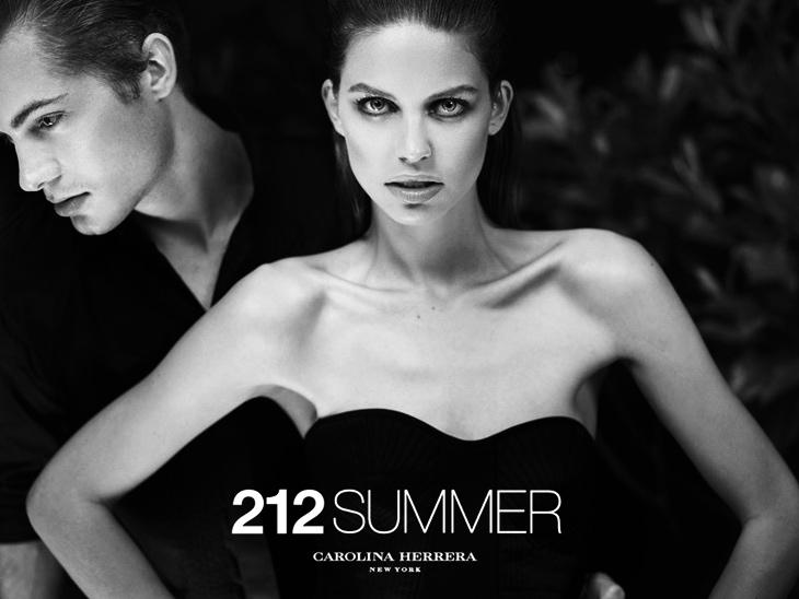 Реклама новых летних ароматов 212 Summer и 212 Men Summer от Carolina Herrera (3)