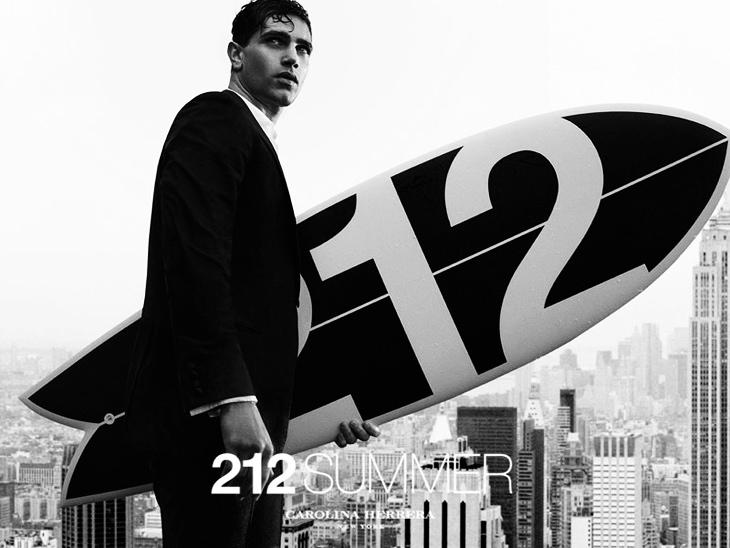 Реклама новых летних ароматов 212 Summer и 212 Men Summer от Carolina Herrera (4)