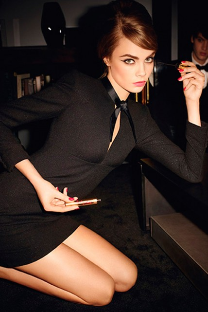 Cara-Delevingne-Baby-Doll-by-Yves-Saint-Laurent 2