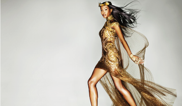 Naomi Campbell Queen of Gold 3