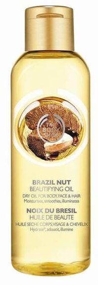 Сухое масло для тела и волос The Body Shop Бразильский орех