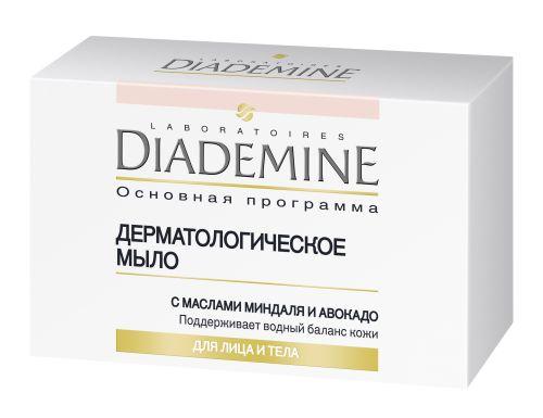 Diademine Дерматологическое мыло с маслами миндаля и авокадо «Основная программа»
