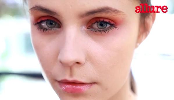 Яркий летний макияж от Dior