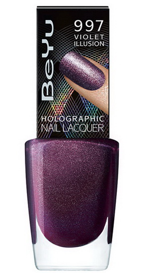 BeYu -Holiday-2014-2015-Mystic-Illusion-Holographic-Nail-Lacquer-Violet-Illusion