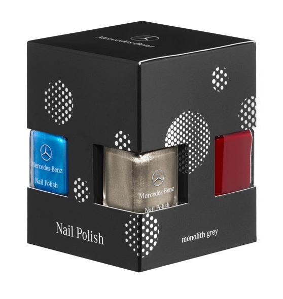 Mercedes-Benz-Nail-Polish-Set