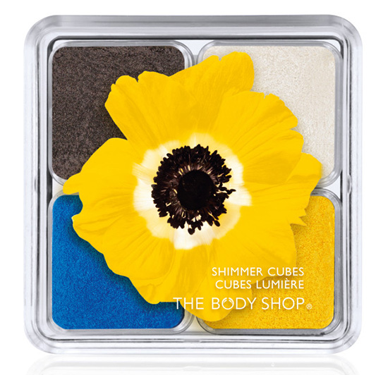 The-Body-Shop-Spring-Summer-2015-Colour-Euphoria-Collection-Shimmer-Cubes-Yellow-Poppy 2