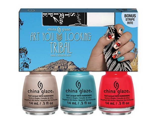 China-Glaze-Summer-2015-Desert-Escape-Collection-Art-You-Looking-Tribal-Nail-Design-Set