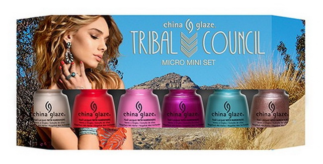 China-Glaze-Summer-2015-Desert-Escape-Collection-Tribal-Council-Micro-Mini-Set