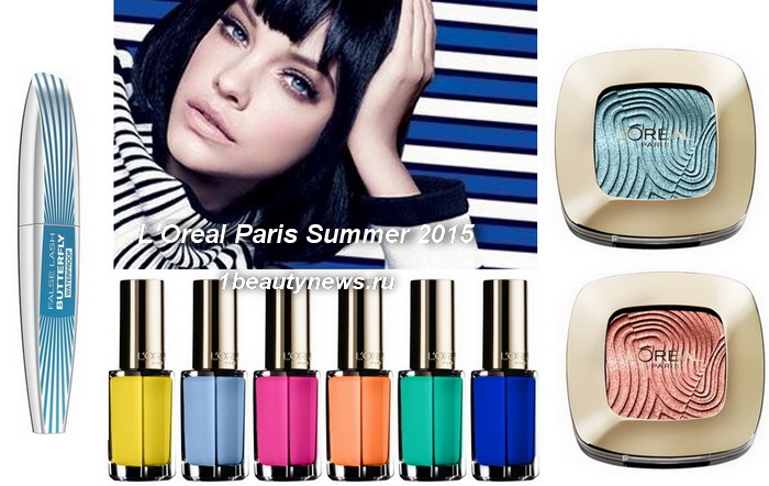 L'Oreal-Paris-Summer-2015-Makeup-Collection 1