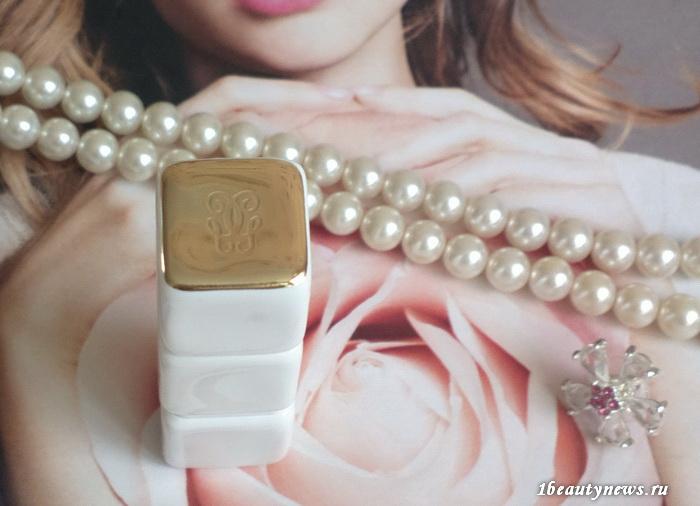 Guerlain-Kiss-Kiss-Rose-Lip-371-Morning-Rose-Review 4
