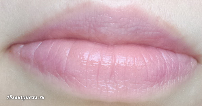 Guerlain-Kiss-Kiss-Rose-Lip-371-Morning-Rose-Swatch 2