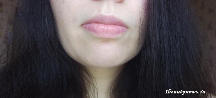 Guerlain-Kiss-Kiss-Rose-Lip-371-Morning-Rose-Swatch 3