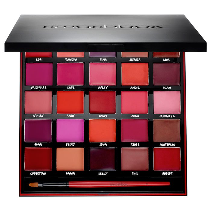 Smashbox-For-25-Years-Our-Lips-Have-Been-Sealed-Palette 1