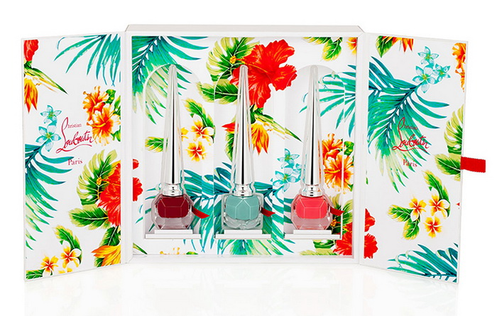 Christian-Louboutin-Spring-2016-Hawaii-Kawaii-Nail-Collection 1