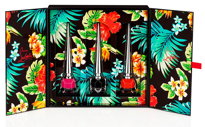 Christian-Louboutin-Spring-2016-Hawaii-Kawaii-Nail-Collection 2