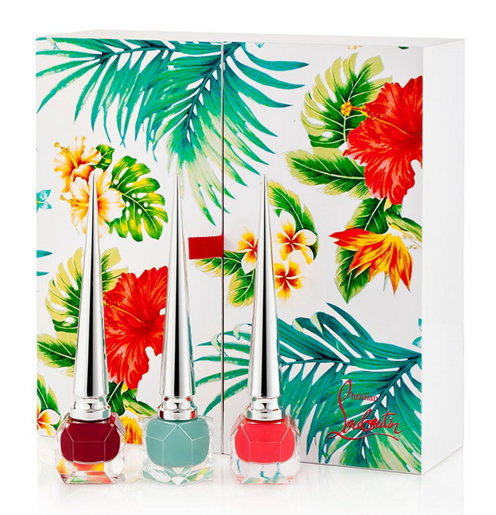 Christian-Louboutin-Spring-2016-Hawaii-Kawaii-Nail-Collection
