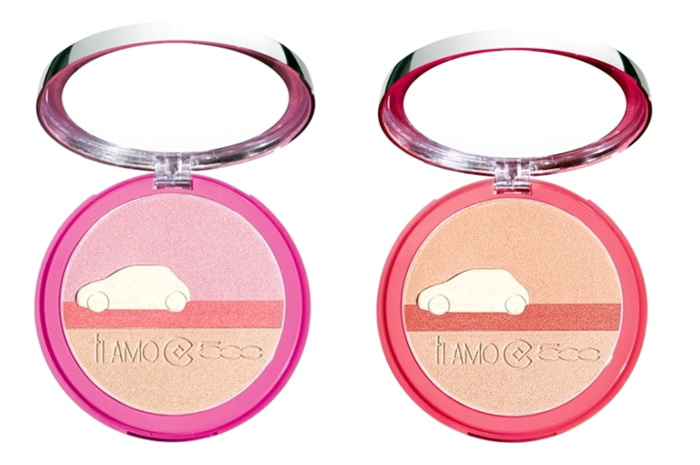 Collistar-Spring-Summer-2016-Ti-Amo-500-Makeup-Collection-Strobing-Look-Blusher-Eye-Shadow-Highlighter