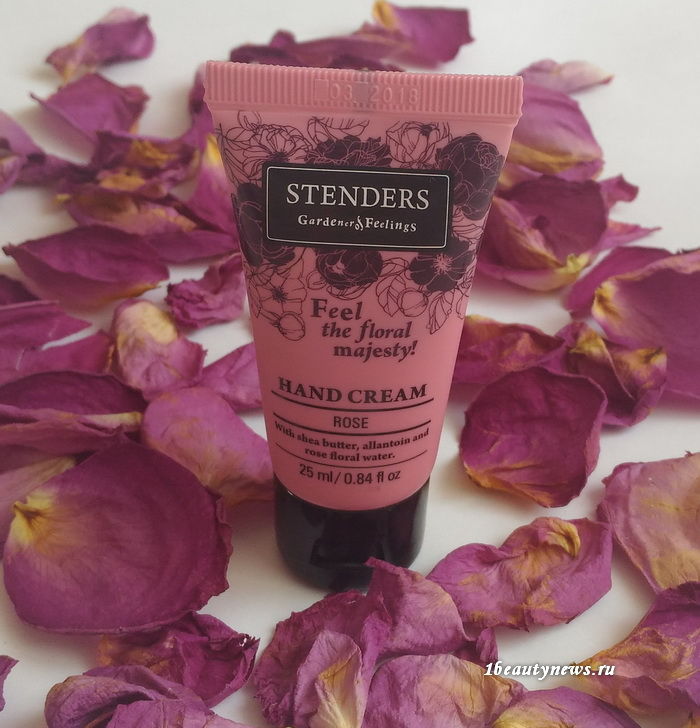 Stenders Hand Cream Rose-Review