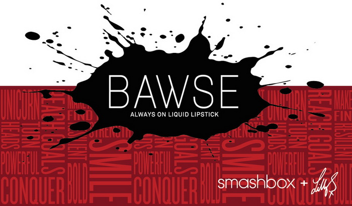 Smashbox-Summer-2016-Always-On-Matte-Liquid-Lipstick-Bawse-by-Lilly-Singh 1