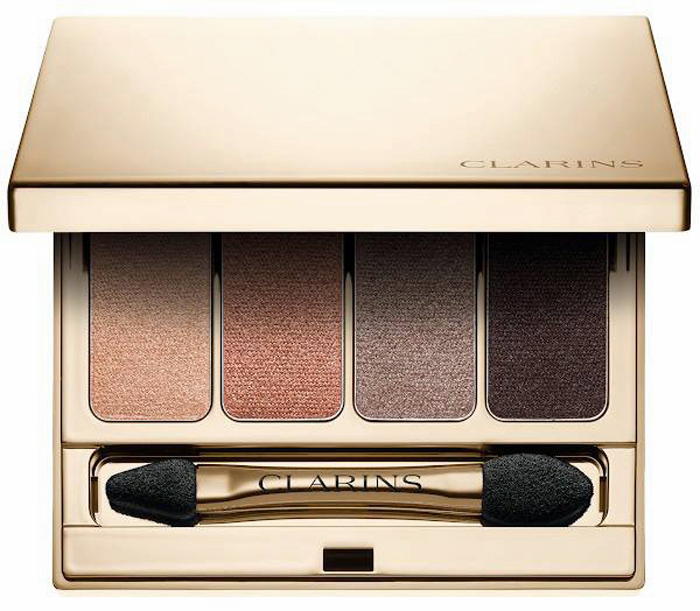 Clarins-Fall-2016-Volume-Makeup-Collection-4-Colour-Eyeshadow-Palette 1