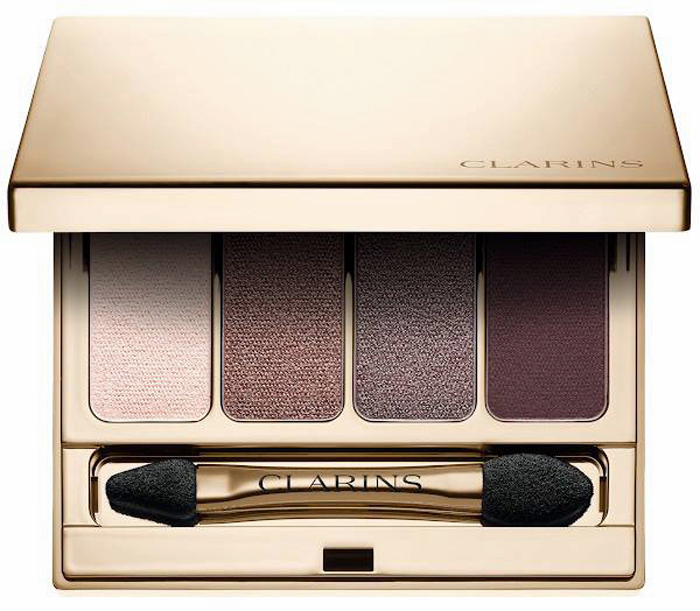 Clarins-Fall-2016-Volume-Makeup-Collection-4-Colour-Eyeshadow-Palette 2