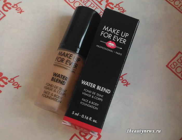Allurebox-August-8-2016-Review-Make-Up-For-Ever-Water-Blend