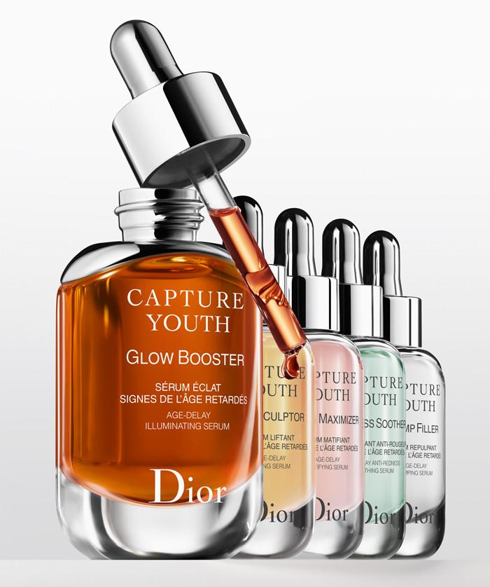 Новая антивозрастная линия для лица Dior Capture Youth 2018
