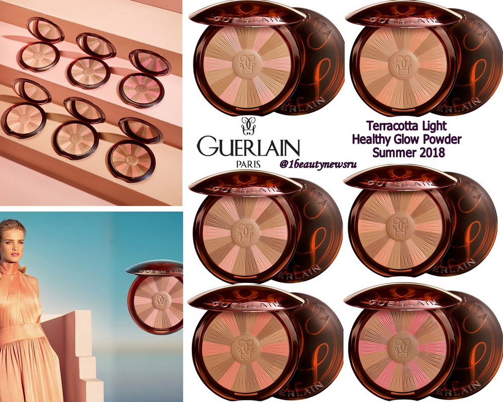 Новые бронзеры Guerlain Terracotta Light Healthy Glow ...