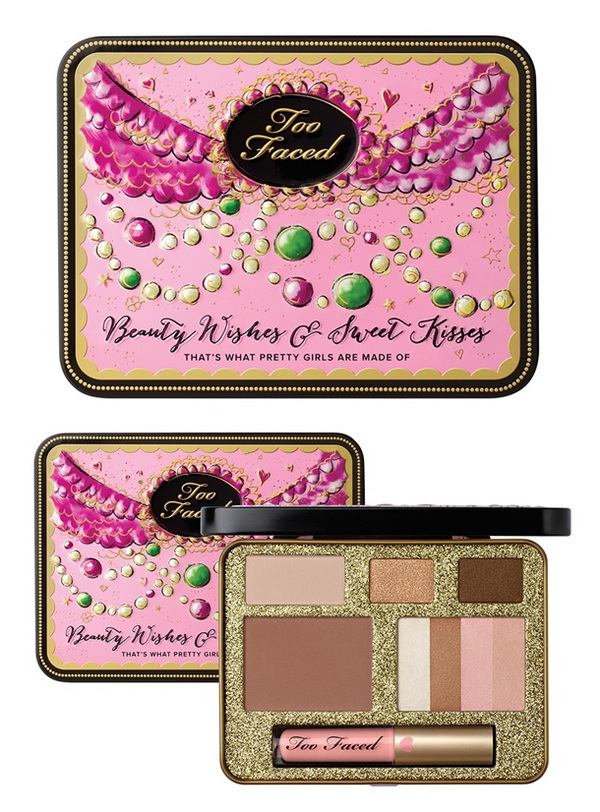Too-Faced-Holiday-2014-2015-What-Pretty-Girls-Are-Made-Of-Makeup-Collection-Wishes-and-Sweet-Kisses