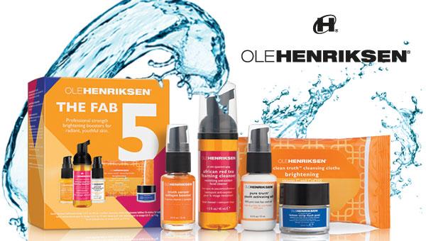 Ole Henriksen the fab 5 kit