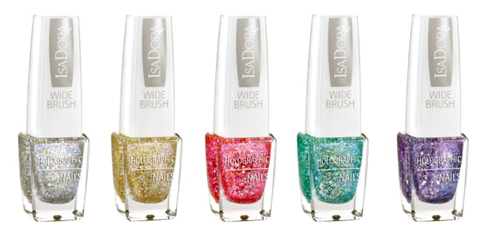 Isadora-Holiday-2015-2016-Nails-Special-Effect-Collection-Holographic-Nails