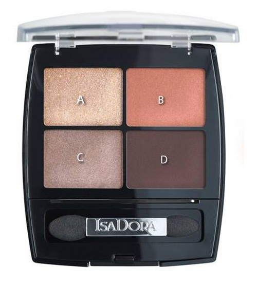 Isadora-Summer-2016-SunKissed-Makeup-Collection-Eyeshadow-Quartet
