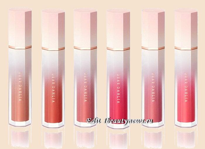 Dear Dahlia Blooming Edition Satin Glow Lip Stain Spring 2021