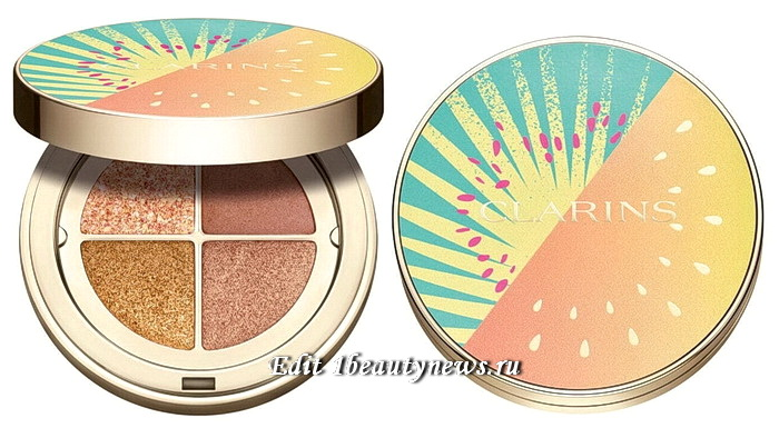 Clarins Ombre 4 Couleurs Eyeshadow Summer 2021