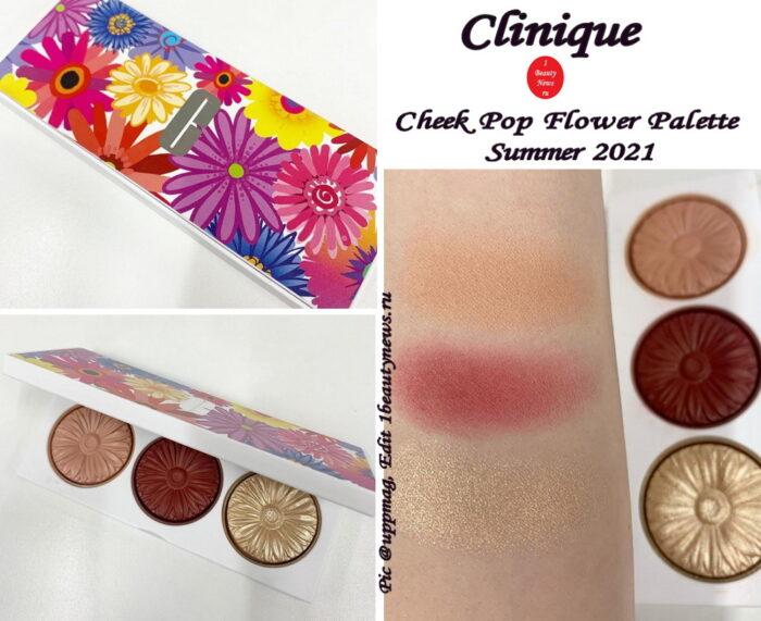 Новая палетка для лица Clinique Cheek Pop Flower Palette Summer 2021: первая информация и свотчи