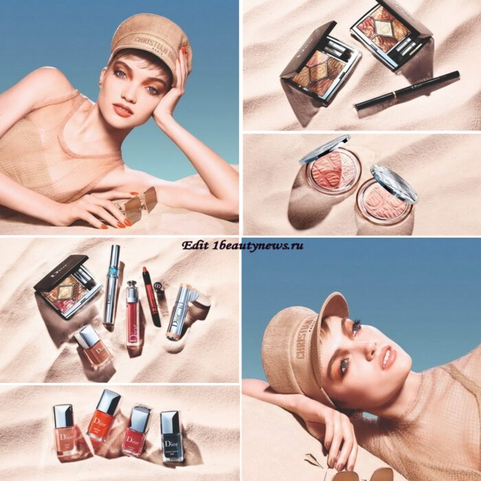 Летняя коллекция макияжа Dior Summer Dune Makeup Collection Summer 2021 уже в продаже в России