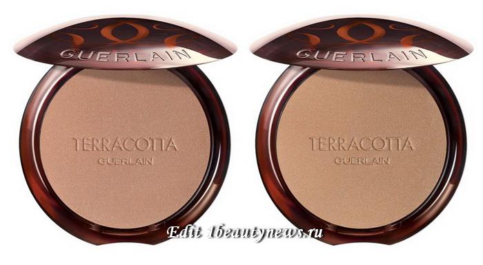 Guerlain Terracotta Sunkissed Natural Finish Bronzing Powder Summer 2021