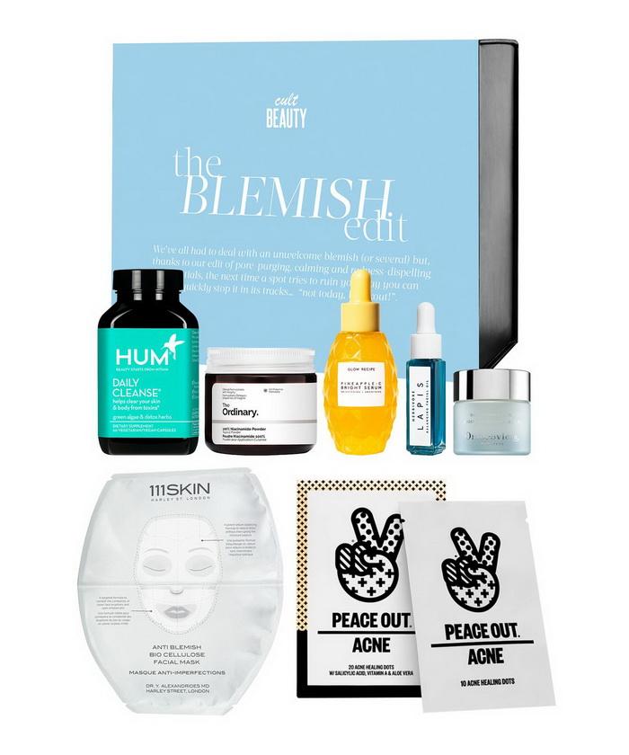 Новый бьюти-бокс Cult Beauty The Blemish Edit 2021