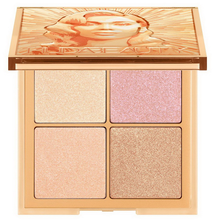 Huda Beauty Glow Obsessions Highlighter Palette Summer 2021