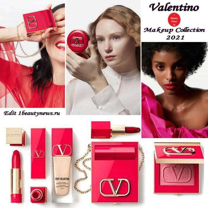 Новая линия макияжа Valentino Beauty Makeup Collection 2021