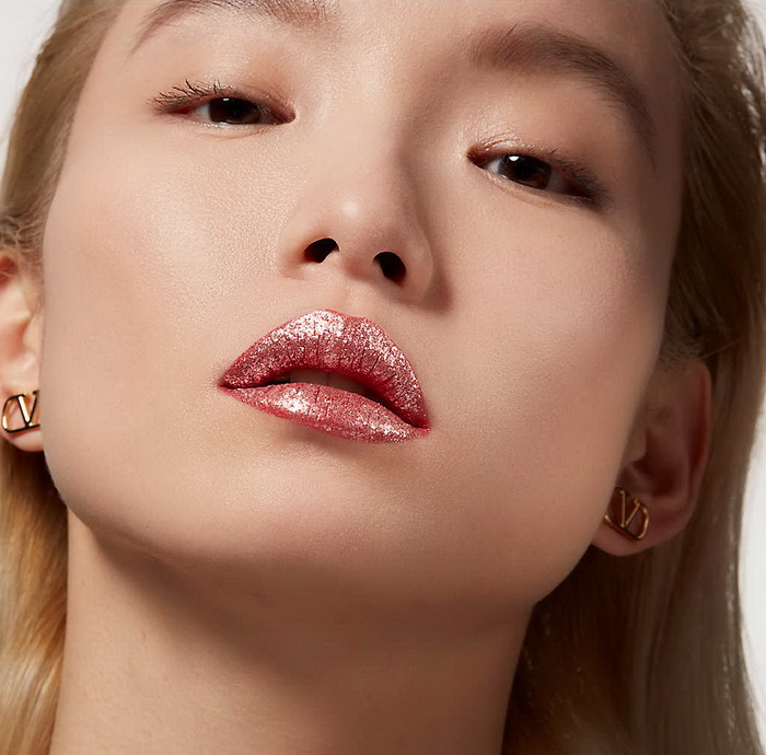 Valentino Beauty Dreamdust Lip and Cheek Loose Shimmer - Swatches