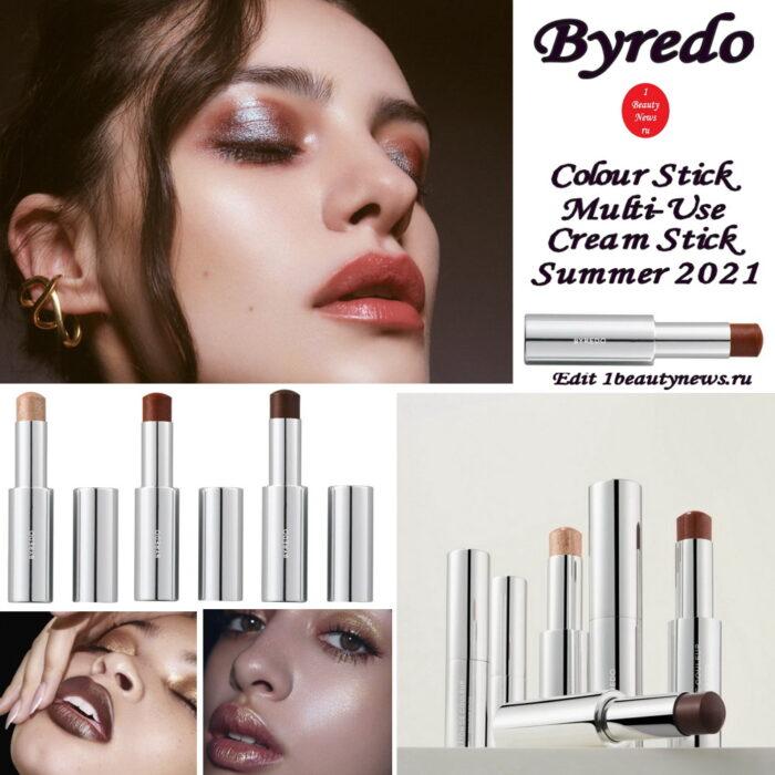 Новые оттенки универсального стика Byredo Colour Stick Multi-Use Cream Stick Summer 2021
