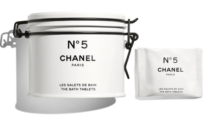 Chanel №5 The Bath Tablets - Factory 5 Collection 2021