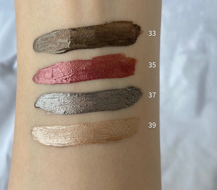 Chanel Makeup Collection Fall Winter 2021 - Swatches