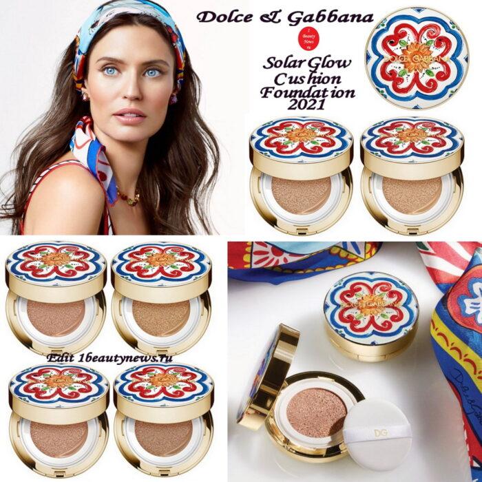 Новый кушон Dolce & Gabbana Solar Glow Cushion Foundation 2021