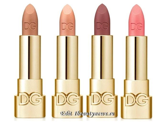 Dolce & Gabbana Only One Matte Lasting Lipstick Fall 2021