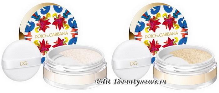 Dolce & Gabbana Solar Glow Translucent Loose Setting Powder 2021
