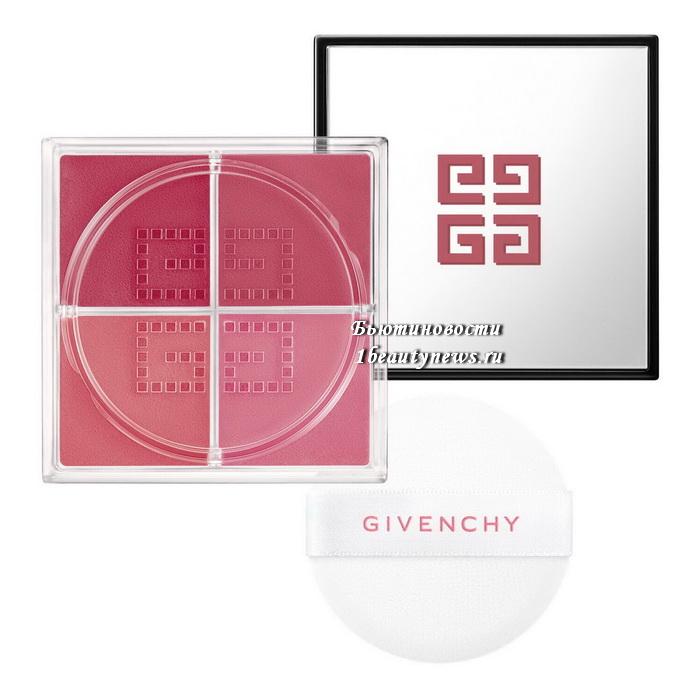 Givenchy Prisme Libre Blush Fall 2021
